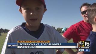Small Stars: Phenomenal flag football kids