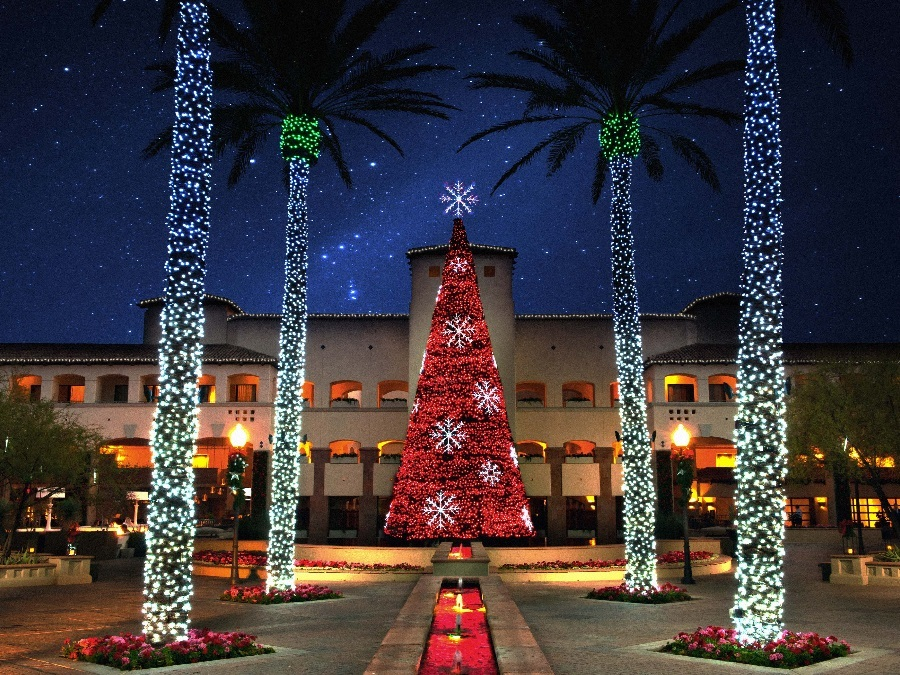 Christmas at the Princess: 4.5 million lights to see at Scottsdale ...