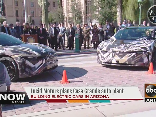 Luxury Electric Car Maker Lucid Motors Announced Tuesday That It Is Going To Build A Manufacturing Plant In Casa Grande With Plans Hire 2 000 People By