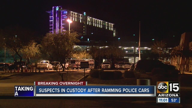 PD Officer Opens Fire After Suspect Rams Police Vehicles At Talking - Pavilions at talking stick car show