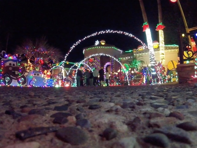 with more than 350000 lights this ahwatukee home was recently featured on abcs tv show the great christmas light fight youll find snow machines