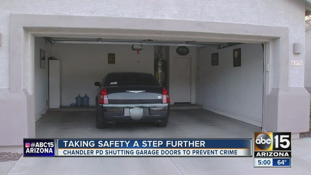 A Woman Said Two Police Officers Left A Note In Her Garage After They  Closed It.
