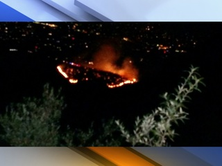 Ramsey Canyon Fire now 85 percent contained