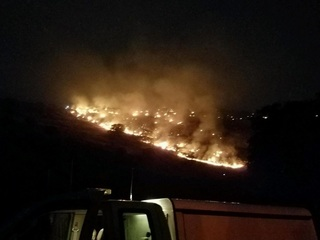 Officias: Ramsey Canyon Fire is 45 acres