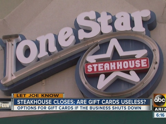 What to do with gift cards if a business closes - ABC15 Arizona