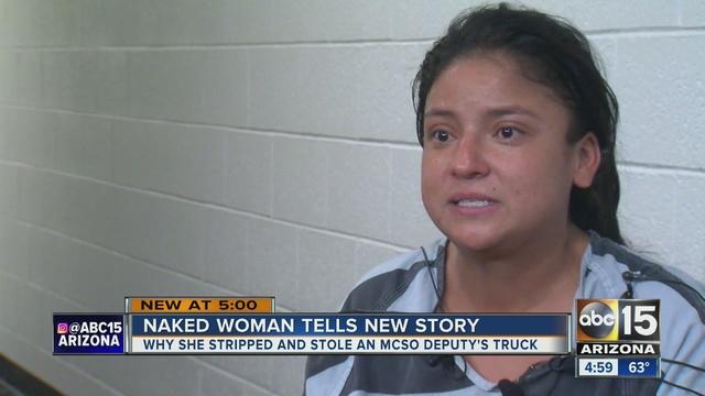 Car clothes naked stolen — 15