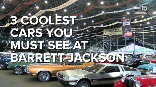 2017 barrett jackson auction guide must see cars event schedule abc15 arizona. Black Bedroom Furniture Sets. Home Design Ideas