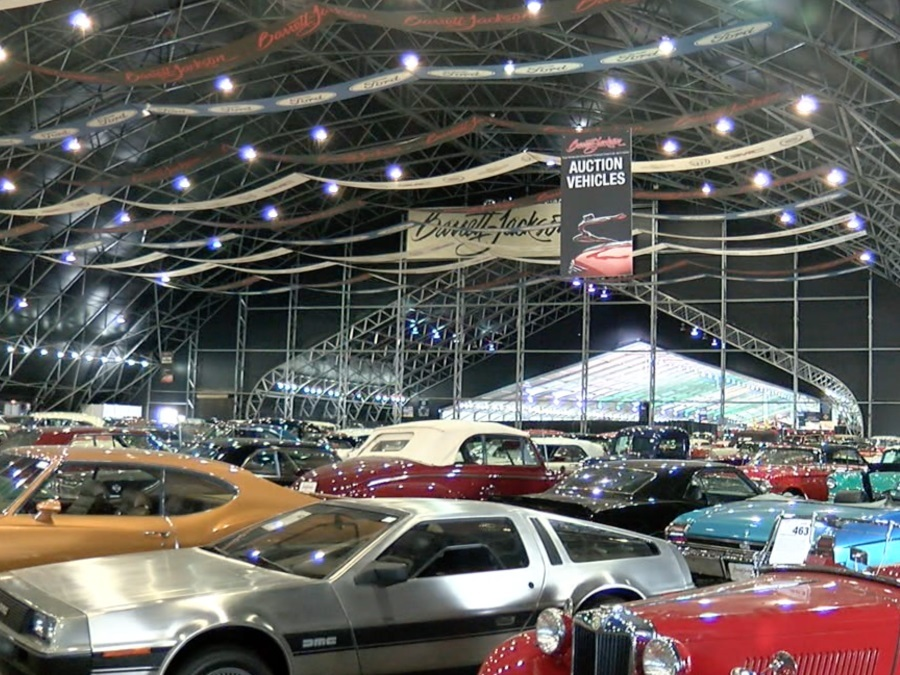 BarrettJackson Auction Guide Mustsee Cars Event Schedule - Barrett jackson car show
