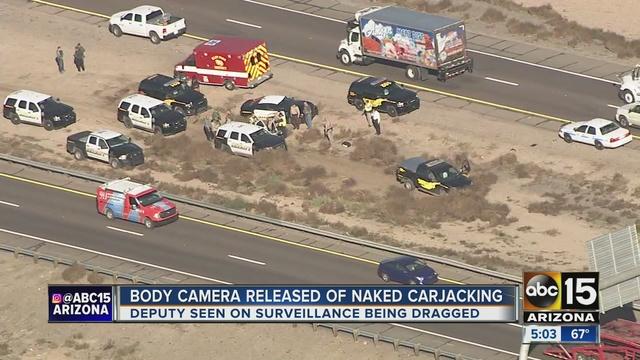 Naked Woman, Lisa Luna, Steals Cop Car In Arizona
