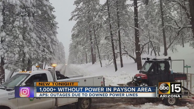 Winter storm knocks out power service to thousands in ...