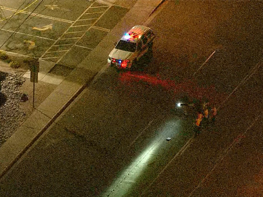 Phoenix Police Pedestrian Killed In Hit And Run Crash 2 Vehicles Sought