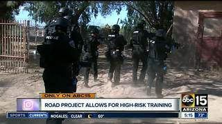 Traffic project gives opportunity to SWAT team