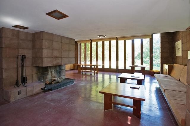 The Usonian Acres, Built In Galesburg, Michigan U2013 Scientists Chose Wright  To Design Homes They Could Build 22 Organic Ranch Style Homes With Ease On  ...