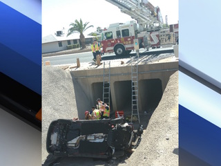 Woman crashes into Sun City West canal