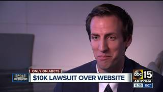 'Frivolous' lawsuits target business websites