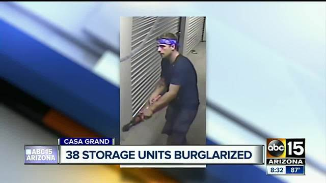 Police looking for man who burglarized Rodeo Storage in Casa Grande & Police looking for man who burglarized Rodeo Storage in Casa Grande ...