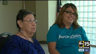 Senior center worker saves woman hurt in home