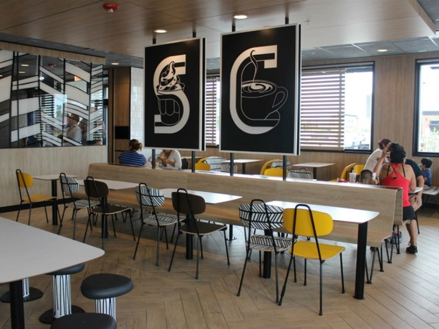 McDonaldu0027s Is Testing Self Order Kiosks And A Redesigned Interior In  Phoenix.