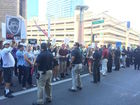 ACLU suing Phoenix police over Trump protest