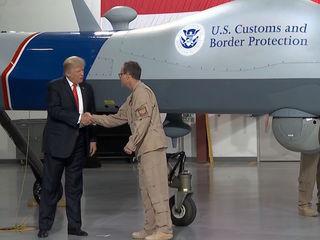 President Trump visits Yuma base before PHX