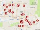 MAP: 60 credit card skimmers found around AZ