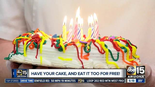 Is your birthday coming up Here are some freebies ABC15 Arizona