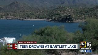 Strangers rush to help find teen who drowned