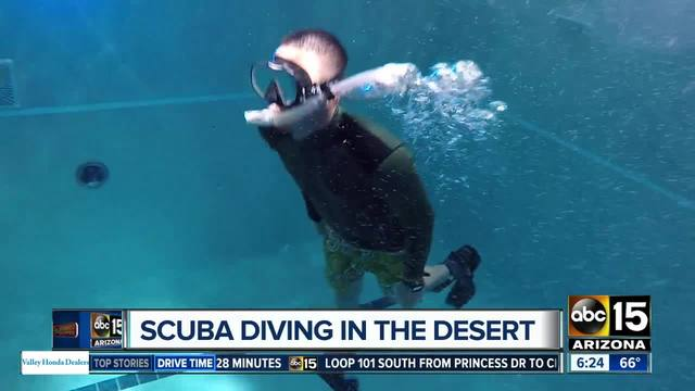 Scuba diving in the desert? Yes, and for a great price! - ABC15 Arizona