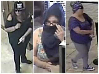 Woman accused in 3 bank robberies still sought