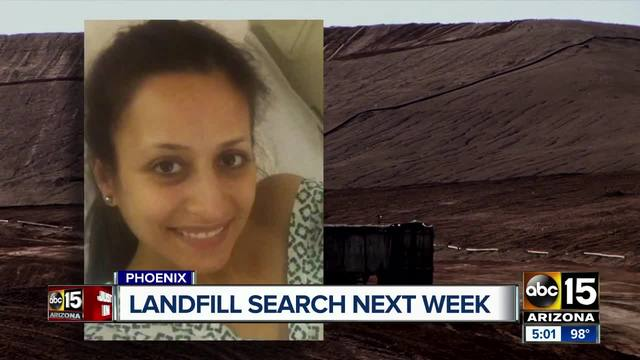 Phoenix confirm landfill search for Christine Mustafa