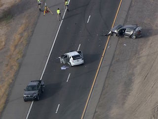 Deadly crash closes SR 347 SB near Maricopa