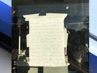 Dry cleaners closes unexpectedly, customers say