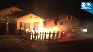 San Tan Valley Halloween display has fire canon
