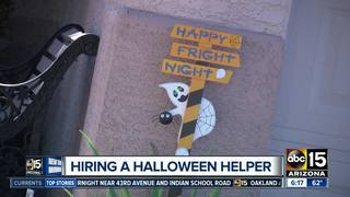 Seniors can hire a 'Halloween Helper' for safety