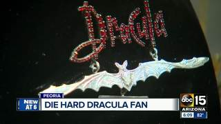 Man's Dracula collection on display in Peoria