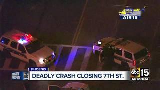 PD: Man dies after struck by car in S. Phoenix