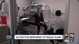 Doctor denies wrongdoing in AG opioid fraud case
