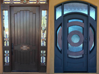 0% financing for 12 months on iron door purchase