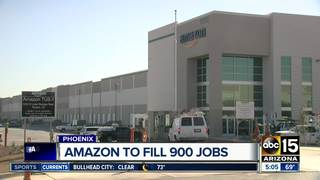 Amazon looking to hire hundreds in the Valley
