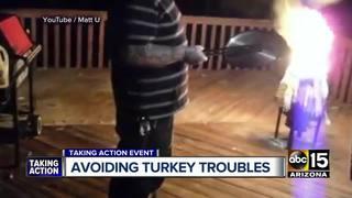 Deep-fry turkey tips for holiday season