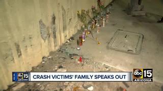 Phoenix family struggles in wake of deadly crash