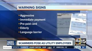Utility companies uniting against scammers