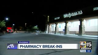 PD: Burglars steal drugs from PHX Walgreens