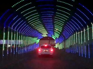 WATCH: Drive through Valley's newest light show