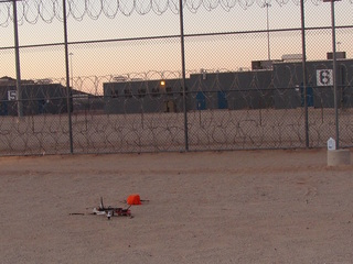 Drone tried to deliver goods to Buckeye prison