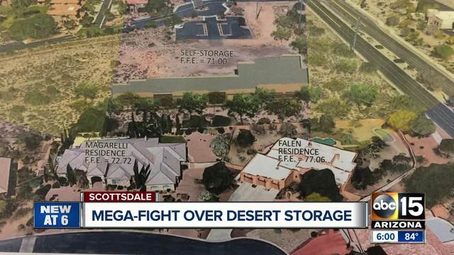 Residents Oppose New Storage Facility In North Scottsdale