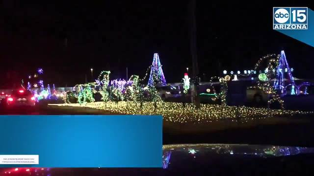illumination drive thru holiday light show expands to tempes diablo stadium