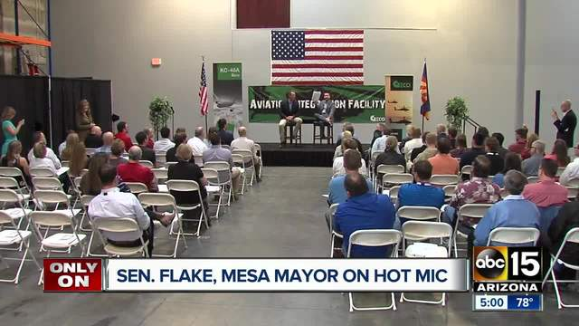 Trump insults Arizona senator as 'Flake(y)'