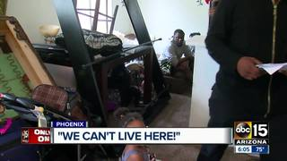 Man's PHX apartment flooded, management no help