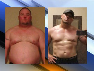 Valley man going from 'Fat Man' to 'Iron Man'